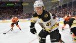 Bruins' Don Sweeney Sends Heartfelt Message To Danton Heinen After Trade
