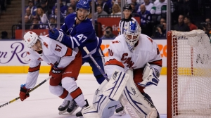 Hurricanes Turn To David Ayres, 42-Year-Old Emergency Goalie, Vs. Maple Leafs