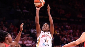 DeWanna Bonner Hopes To Help CT Sun Bring Home First WNBA Championship