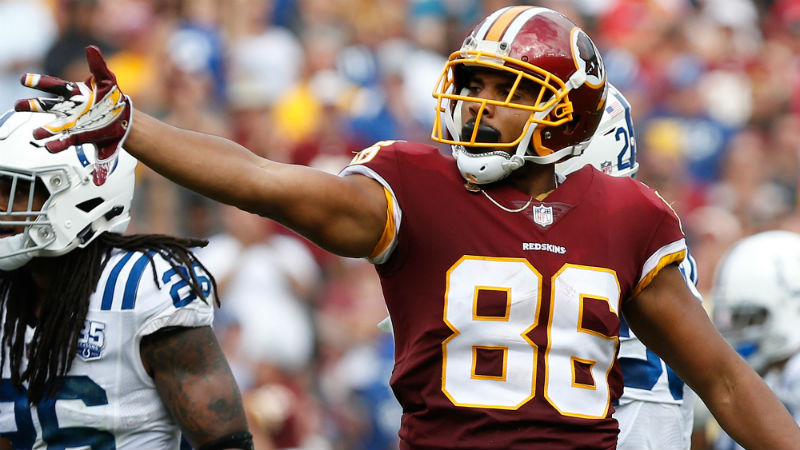Could Jordan Reed Be Patriots Tight End Option After Redskins Release?