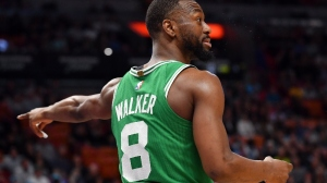 Celtics' Kemba Walker Reflects On Finally Playing For NBA Playoff Contender