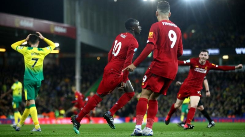 Norwich Liverpool Highlights
