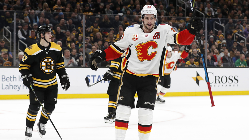 Bruins Struggle For Second Straight Game As They Fall To Flames At TD Garden