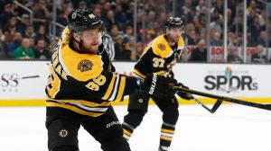 David Pastrnak Continued His Remarkable Season With First Period Goal