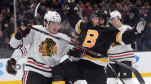 Bruins Set To Face Blackhawks On Second Night Of Back-To-Back