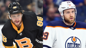 David Pastrnak Vs. Leon Draisaitl: Who Do You Start Your NHL Team With?