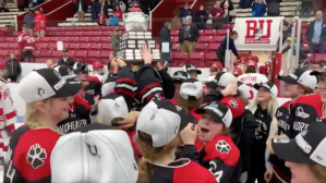 2020 Women's Beanpot Notes: Northeastern Happy Its Seniors Finally Claim Title