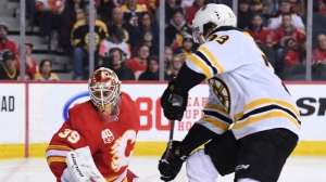 Bruins Rally To Take Down Flames After Wild First Period In 4-3 Win