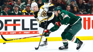 Bruins Record Third Straight Win Behind Offensive Explosion Vs. Wild