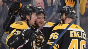 Charlie McAvoy Looks To Build Off First Goal In Bruins' Clash Vs. Coyotes