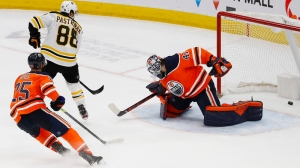 Bruins Notes: David Pastrnak Breaks Down His OT Goal In Win Over Oilers