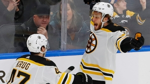 David Pastrnak Finds Ways To Contribute In Win Over Flames Without Lighting Lamp