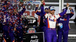 Denny Hamlin's Spotter Apologizes After Ryan Newman Wreck At Daytona 500