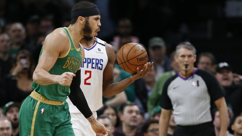 Celtics Notes: Jayson Tatum's Play Getting Kawhi Leonard, Lou Williams' Attention
