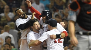 How J.D. Martinez Plans To Celebrate Home Runs With Brock Holt Gone
