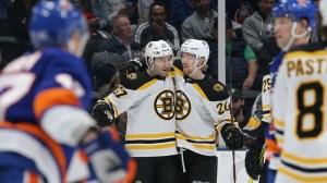 Berkshire Bank Hockey Night In New England: Projected Bruins-Islanders Lines, Pairings