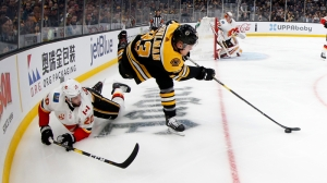 Bruins Notes: Why Bruce Cassidy Changed Up Second, Third Lines In Loss To Flames