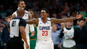 Lou Williams, Clippers Miffed About Controversial Foul Call Vs. Celtics