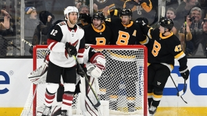 Bruins Continue To Find Ways To Win, Take Down Coyotes For Sixth Straight