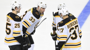 Patrice Bergeron Maintains Sizzling Pace With Goal In Win Over Oilers