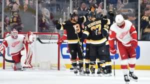 Bruins Notes: Boston Gets Monkey Off Back By Beating Red Wings 4-1