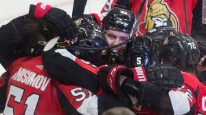 Watch Senators Score Four Unanswered Goals In Less Than Four Minutes