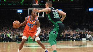 Watch Chris Paul Confront 'Privileged' Fan During Celtics-Thunder