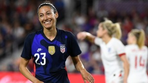 Watch USWNT's Christen Press' Snipe vs. England In SheBelieves Cup