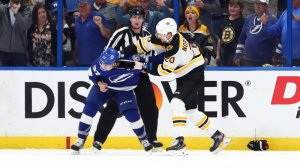 Bruins' Bruce Cassidy Has Perfect Reaction To Joakim Nordstrom's Fight