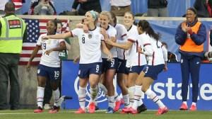 Watch Julie Ertz' Game-Winning Header Earn USWNT Victory Over Spain