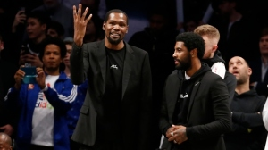 How Kyrie Irving, Kevin Durant 'Factored' Into Nets' Firing Kenny Atkinson As Coach