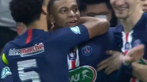 Watch Kylian Mbappe's Super-Human Solo Goal For PSG Vs. Lyon In French Cup