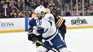 Bruins Drop Rollercoaster Clash With Lightning Behind Slow First Period