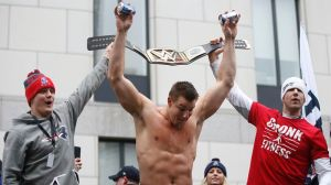 WWE Says Rob Gronkowski Must Defend 24/7 Title, Even During Bucs Games