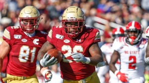 BC Football Head Coach Jeff Hafley Excited For Veteran Roster Returning