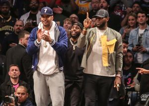 Carmelo Anthony Claims LeBron James Saved Him From Drowning In Bahamas