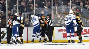 Bruins, Lightning Racked Up Absurd Amount Of Penalty Minutes Saturday