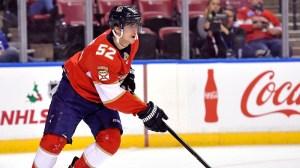MacKenzie Weegar Opens Panthers' Scoring Vs. Bruins In Second Period