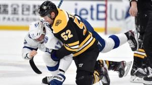 NESN Bruins Podcast: Breaking Down Fight-Filled Game Against Lightning