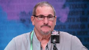 Here's Why Giants GM Dave Gettleman Was Wearing Mask During NFL Draft