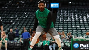 Celtics' Semi Ojeleye Breaks Down His Favorite At-Home Workout Drill