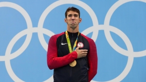 VA Hero Of The Week: Michael Phelps Shares Message To Olympic Athletes