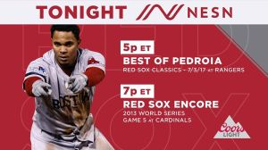 Red Sox Encore: Relive Sox-Cardinals 2013 World Series Game 5 Ahead Of NESN Broadcast