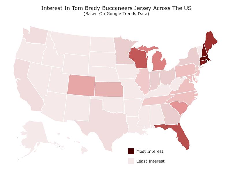 Tom Brady Bucs jersey