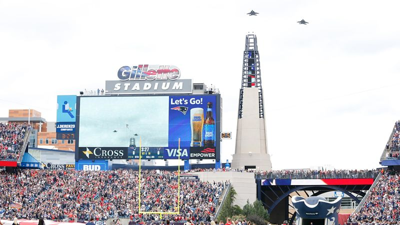 Showcase Cinemas Opens Pop-Up Drive-In Theatre Outside Gillette Stadium