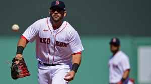 Red Sox First Basemen Mitch Moreland Joins Tom Caron On 'At Home With TC'