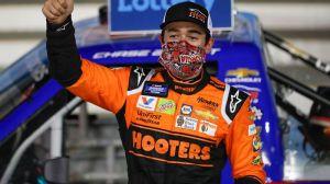 Chase Elliott Mocks Kyle Busch After Claiming Bounty In NASCAR Truck Race