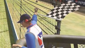 This NASCAR Parody Video Gives iRacing Flag Man Spotlight He Deserves