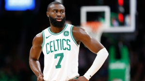 Scenes From Celtics Star Jaylen Brown's 15-Hour Journey To Atlanta Protests