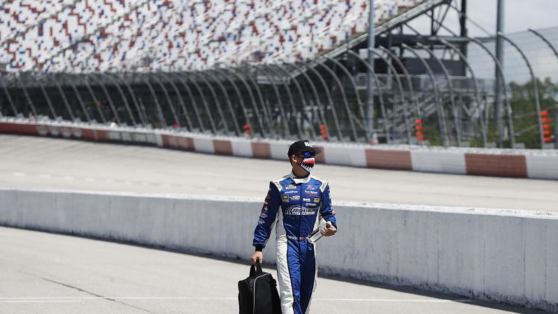 NASCAR driver Michael McDowell